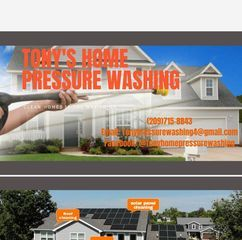Avatar for Tony's home pressure washing