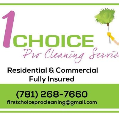 Avatar for First choice cleaning