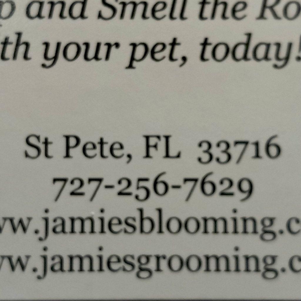 Jamie's Grooming & Blooming LLC