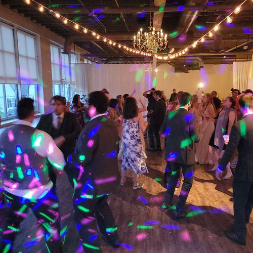 Kearney Wedding Open Dancing