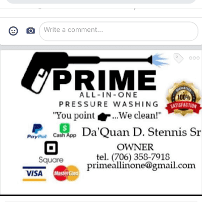 Avatar for Prime All -In-One pressure Wash