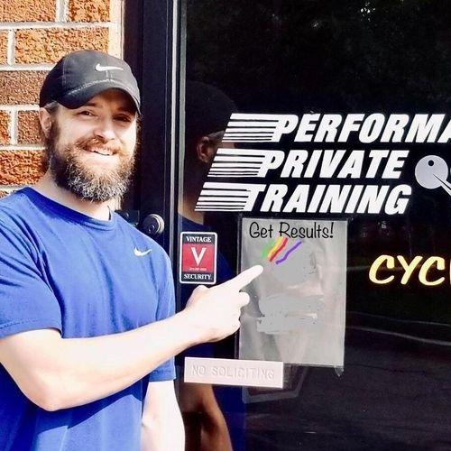 Steve the trainer!