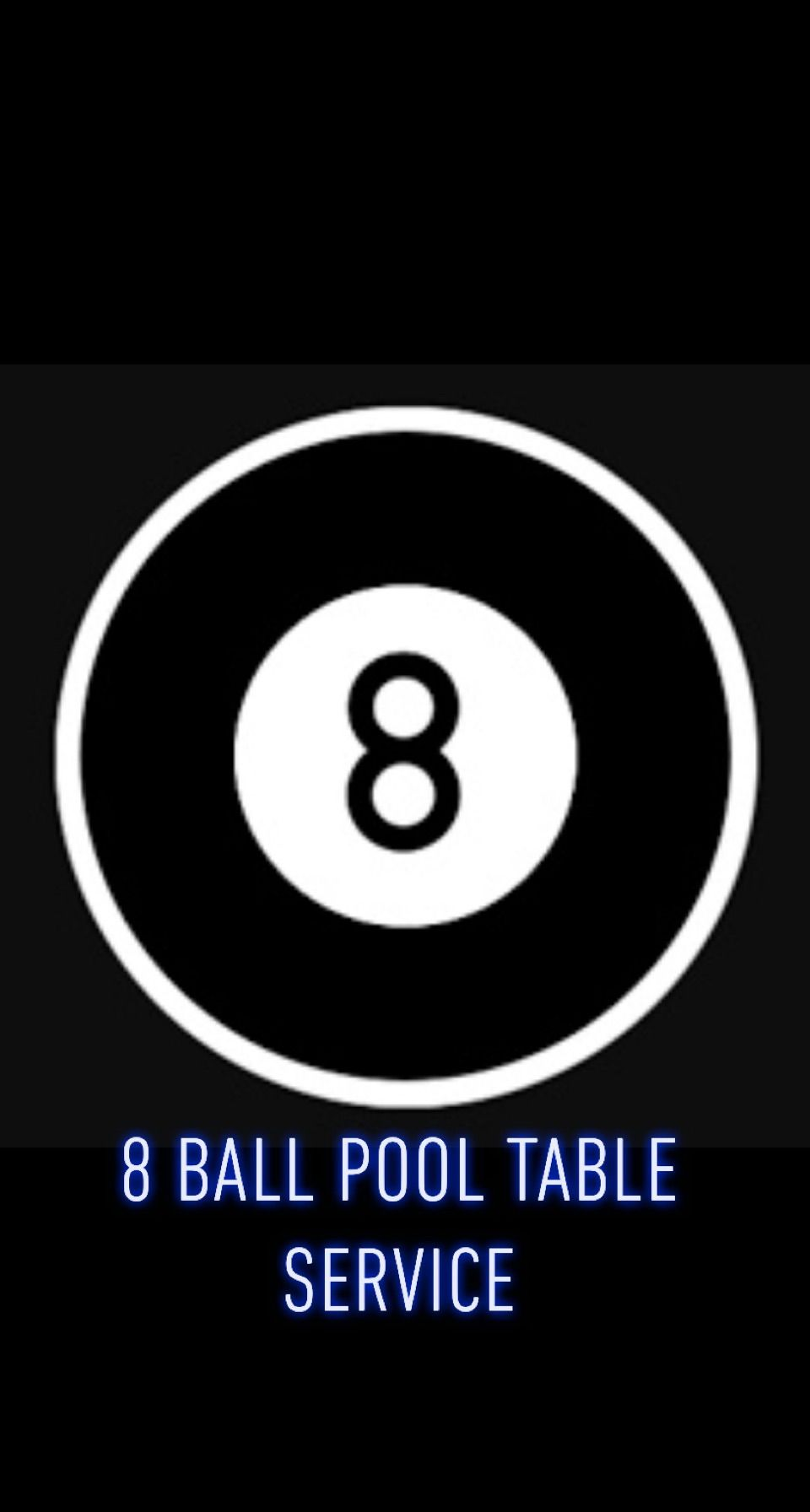 8 Ball Pool Table Service