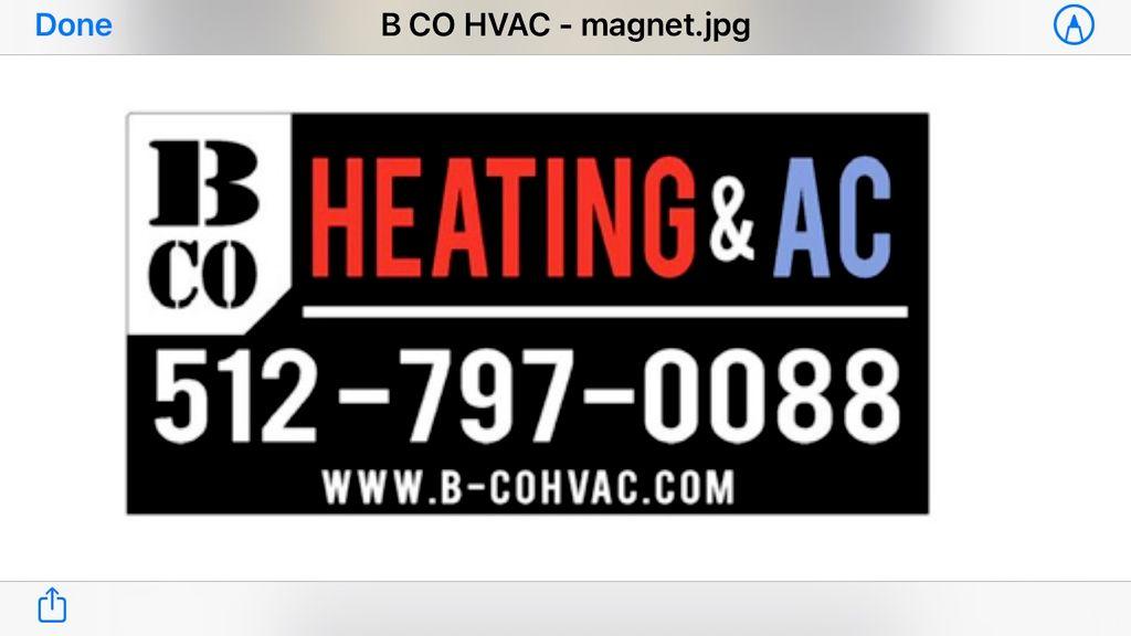 B-Co Heating and AC, LLC