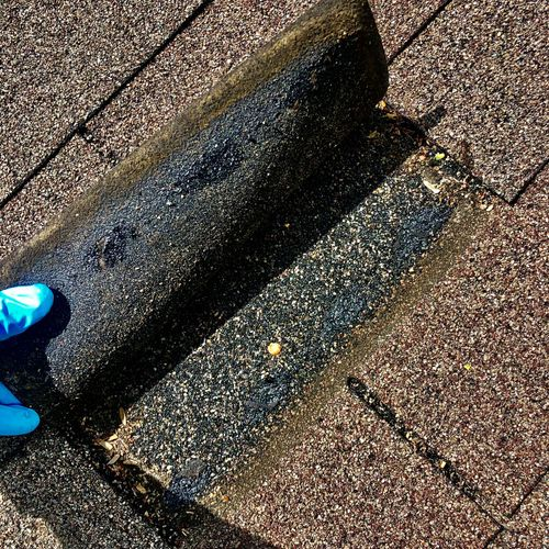 Your roof absorbs heat that is above 100 degrees Fahrenheit one minute. .