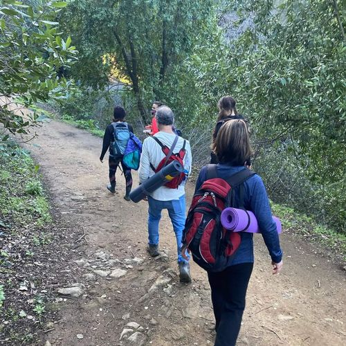 Hiking & Yoga - a great way to reconnect!
