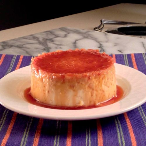 Toasted Coconut Flan