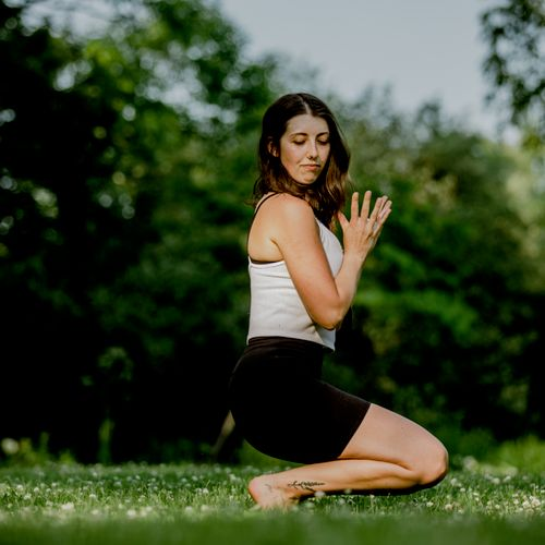 I have a passion for yoga photography. See my Instagram!