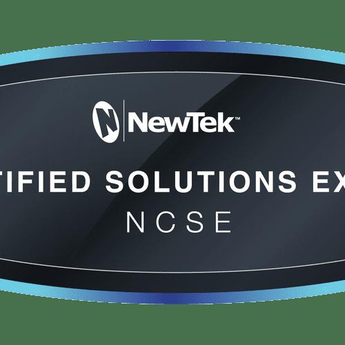 Fully Certified Newtek Operator on staff
