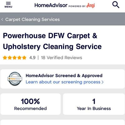 Avatar for Powerhouse DFW Carpet & Upholstery Cleaning
