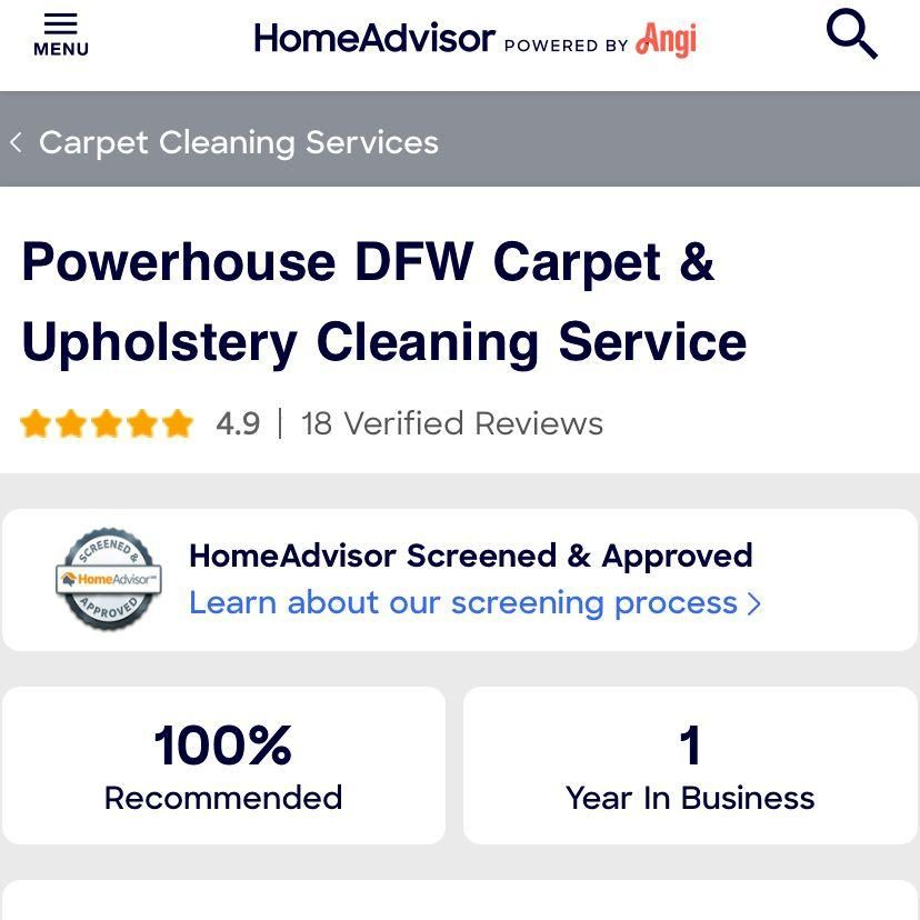 Powerhouse DFW Carpet & Upholstery Cleaning