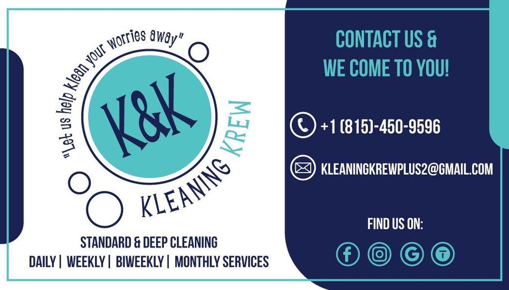 K&K Kleaning Krew LLC