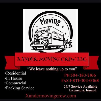 Avatar for Xander Moving Crew