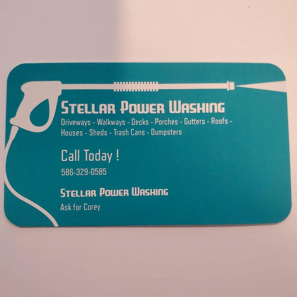 Stellar Power Washing