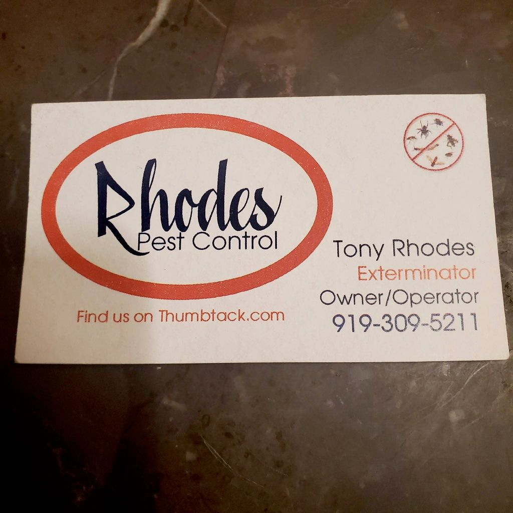 Rhodes pest control