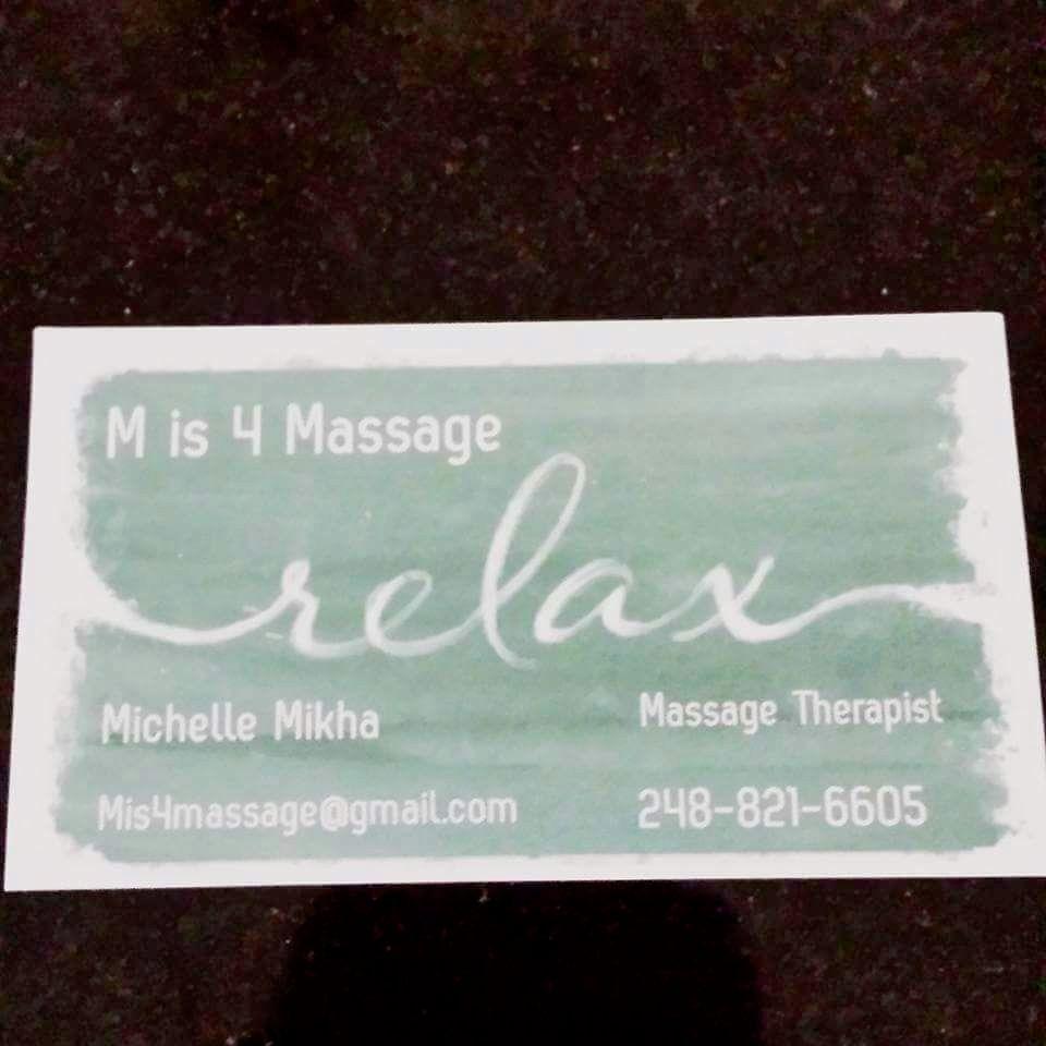M is 4 massage