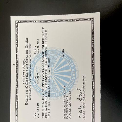Public Health Mosquito Certification
