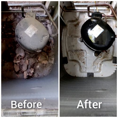 Outdoor Unit Cleanup