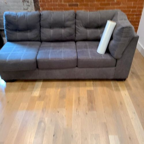 2 piece sectional move