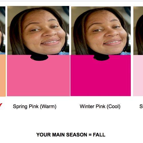 Digital Seasonal Color Analysis