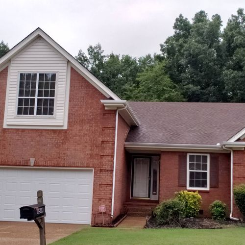 Gutter and Trim Cleaning