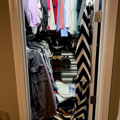 Closet pt1 Before