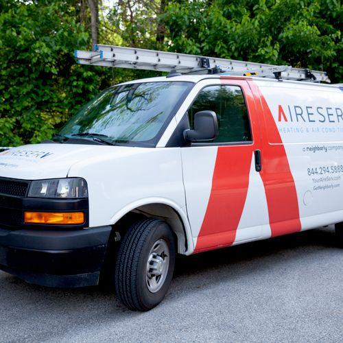 Service Technician's Vehicle