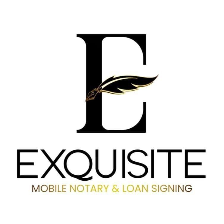 Exquisite Mobile Notary and Loan Signing