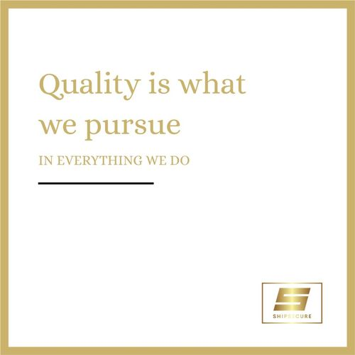Quality Over Everything!
