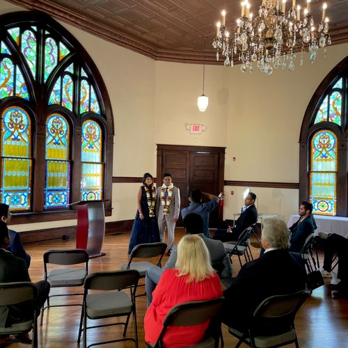 Morton Museum in old Collierville— great venue with church vibe !