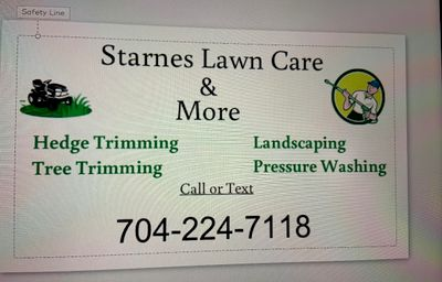 Avatar for Starnes Lawn Care and Pressure Washing