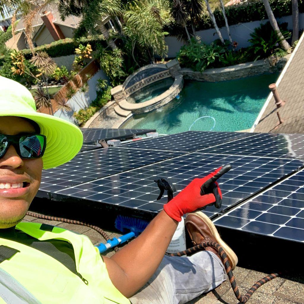 Optimal Solar Washes