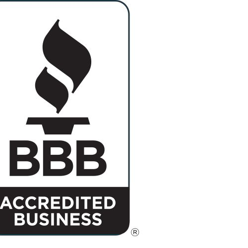 We are accredited by the Better Business Bureau