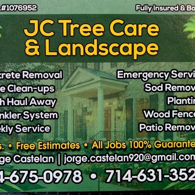 Avatar for Jc Tree Care And Landscape