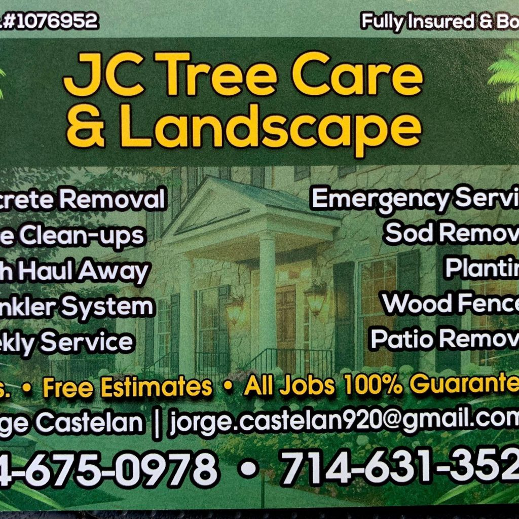Jc Tree Care And Landscape