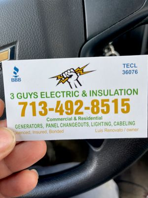Avatar for 3 GUYS Electrical & Insulation