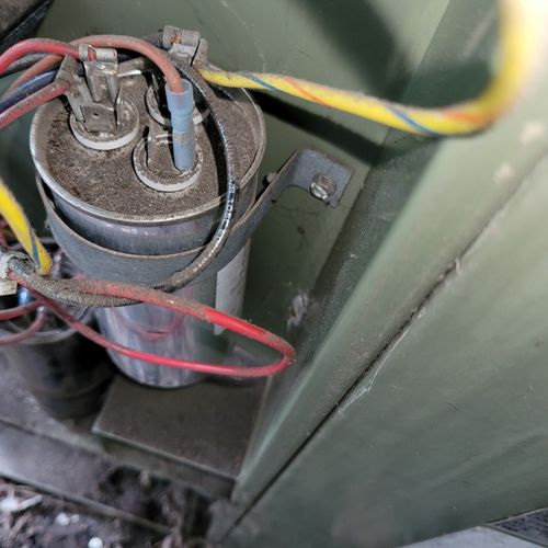 A frequent cause of failure is a defective capacitor.