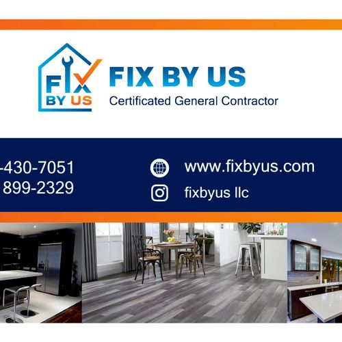 Fix by us Business Card