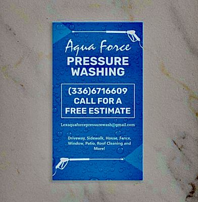 Avatar for Aqua Force Pressure Washing