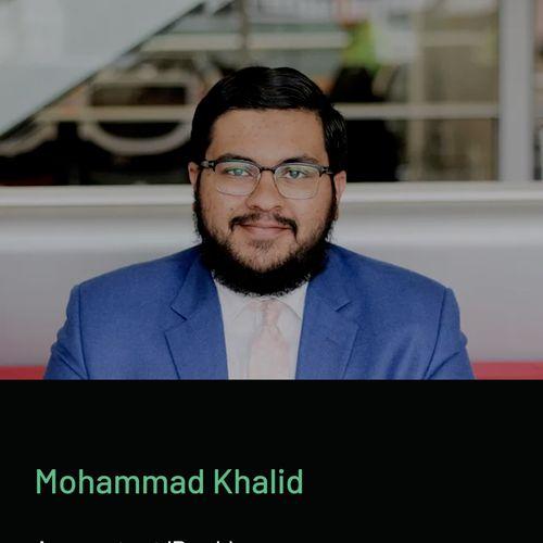 Mohammad Khalid Accountant