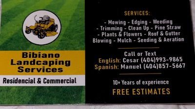 Avatar for Bibiano Landscaping