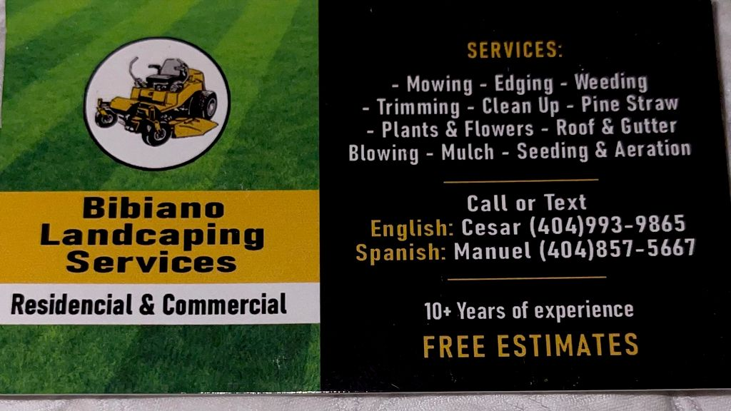 Bibiano Landscaping