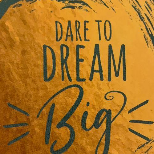 Your dreams determine your destiny