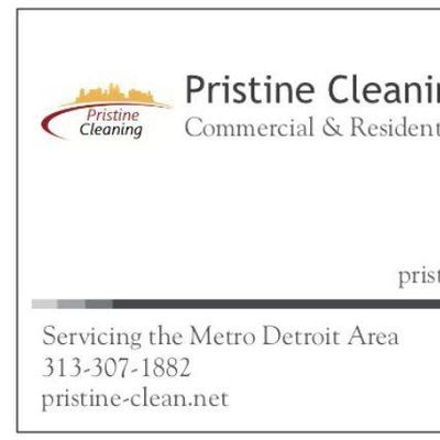 Avatar for Pristine Cleaning & Disinfecting