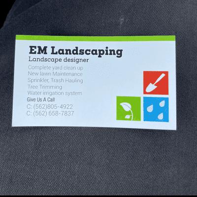 Avatar for EM landscaping