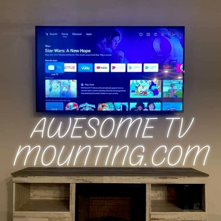Awesome TV Mounting