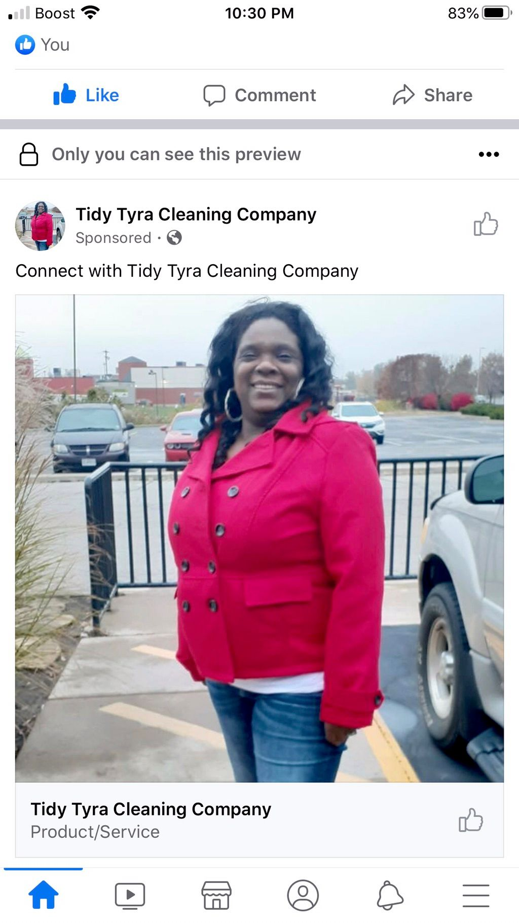 Tidy Tyra Cleaning Services LLC