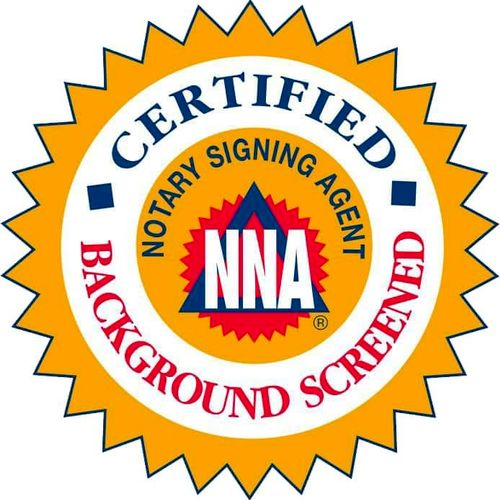NNA Certified-Background Screened Notary Signing Agent