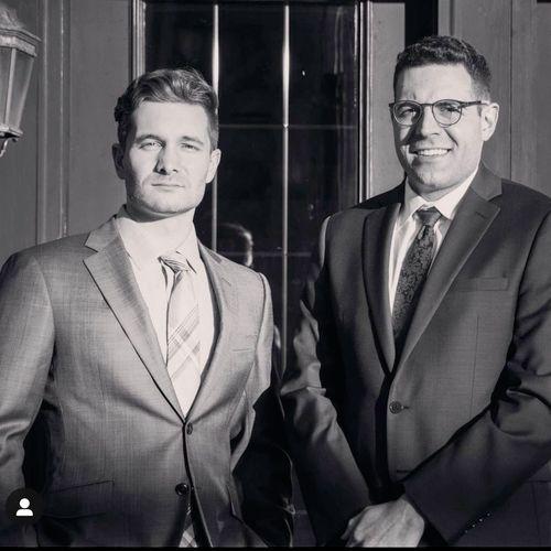 Founding Partners, David and Nick.