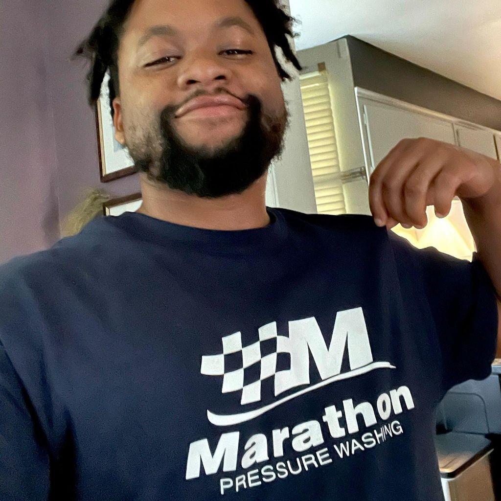 Marathon pressure washing
